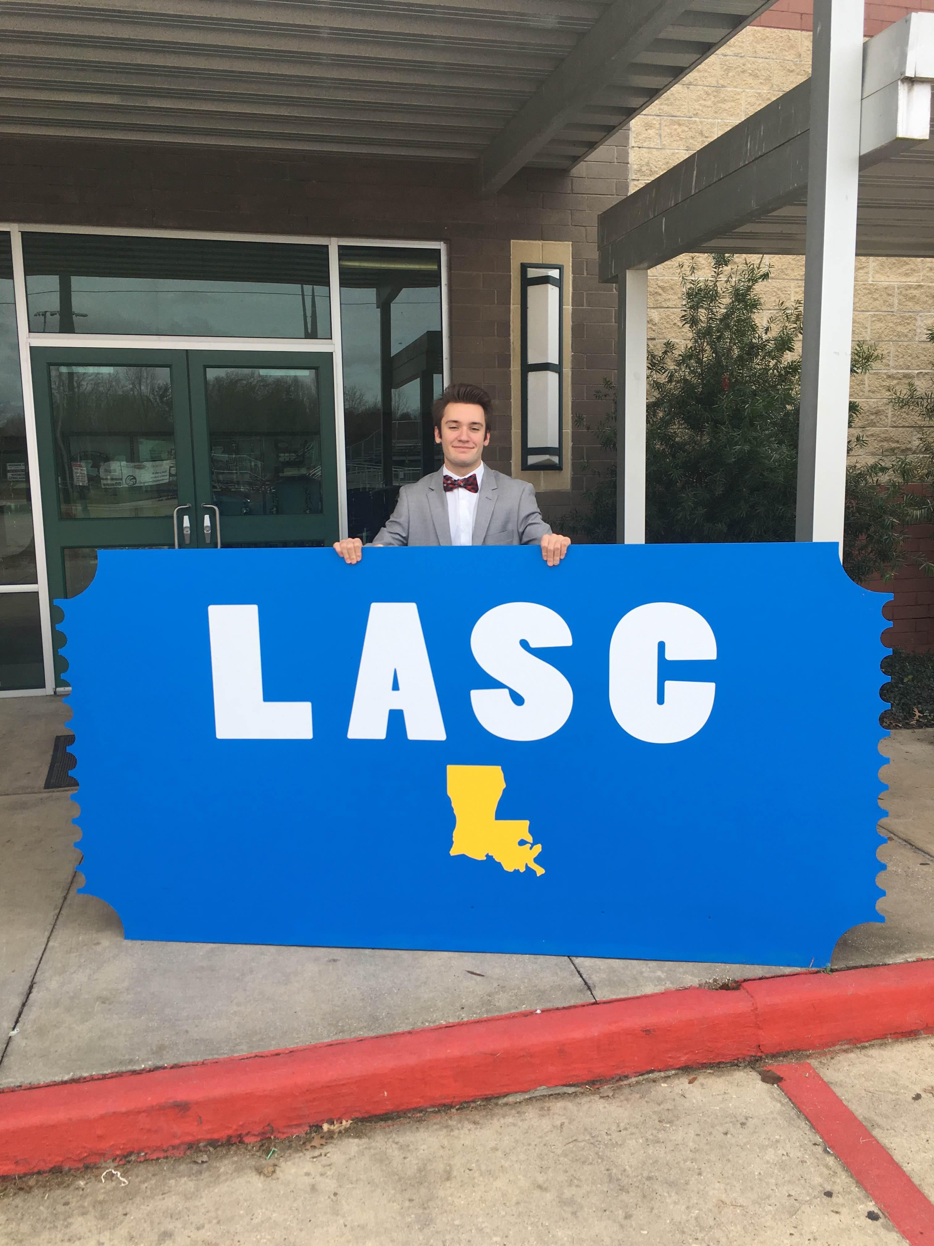 LASC District 1 President, Ben Calico